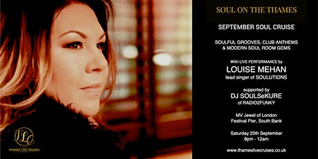Soul on the Thames - September Soul Cruise tickets