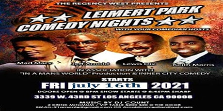 Regency West Comedy tickets