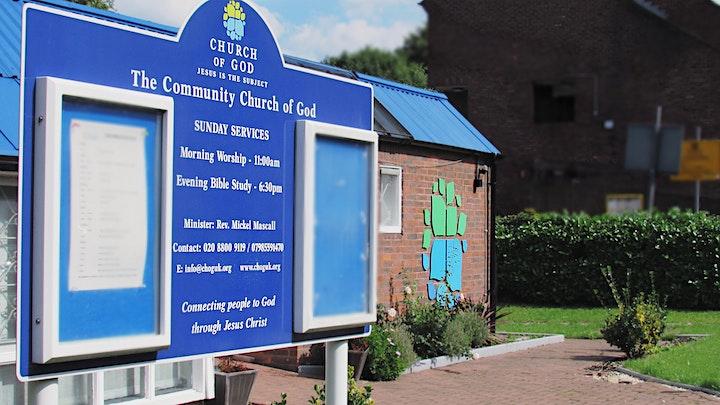 The Community Church of God,UK  - Sunday Service image