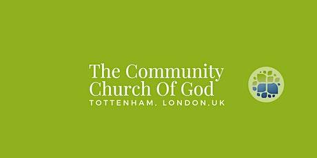 The Community Church of God,UK  - Sunday Service tickets