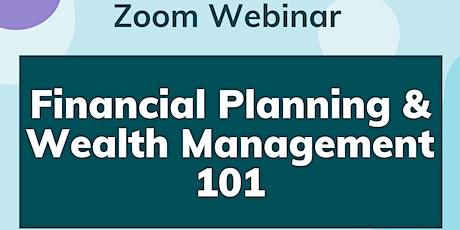 Financial Planning & Wealth Management 101 tickets