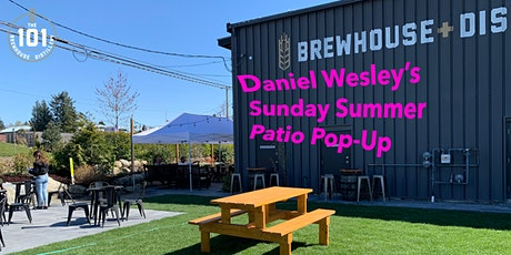 Daniel Wesley at The 101 (Sunday Pop Up - 1:30PM SHOW) tickets