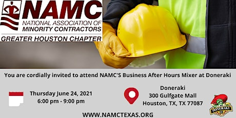NAMC'S Business After Hours Mixer tickets