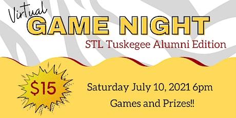 Virtual Game Night STL Tuskegee Alumni Edition tickets