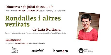 Rondalles i altres veritats de Laia Fontana. Premi València Nova de poesia entradas