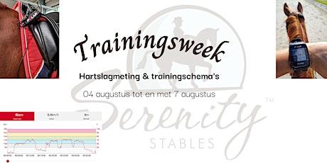 Hartslagmeting en trainingsschema's tickets
