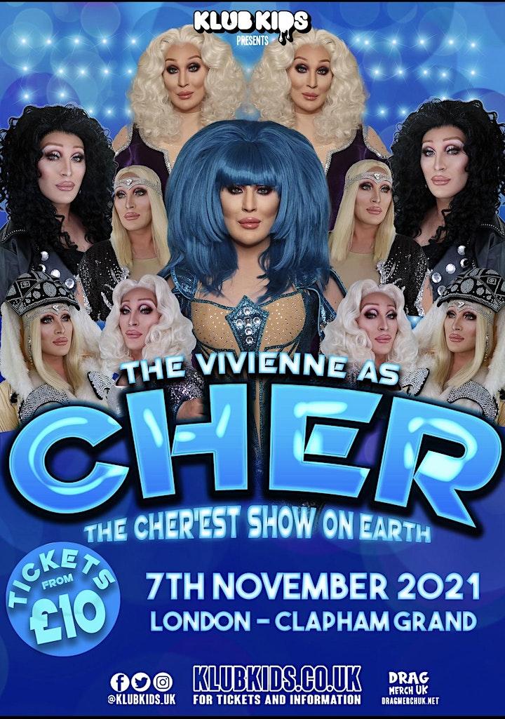 Klub Kids London Presents: THE VIVIENNE as Cher (+14) image