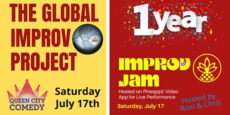 Improv Jam with Pineappl tickets