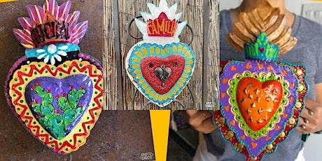 DIY Painted Heart Lantern tickets