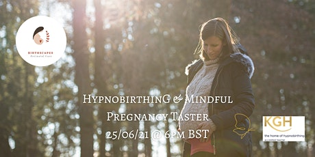 Hypnobirthing and Mindful Pregnancy Taster tickets