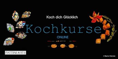 Online Kochkurs Workshop: Die Küchengeheimnisse I (Dauer: 6 Wochen Kurs) Tickets