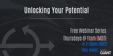 Unlocking Potential | Toolkit Series - Webinar #2 tickets