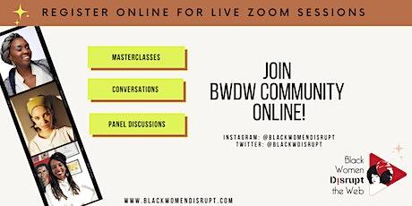 BWDW MASTERCLASS-Entertainment Law for Filmmakers w/ Katrina W. & Unathi M. tickets