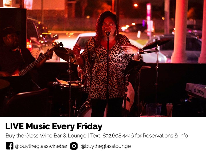 Live Music Friday's   Neo Soul Lounge x Buy the Glass Wine & Lounge image