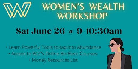 Women's Wealth Workshop tickets