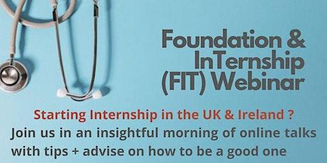 Dear Doctor: Foundation and Internship  Webinar (FIT) 2021 tickets