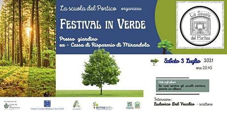 Festival in verde a Mirandola : ambiente e sostenibilità . biglietti