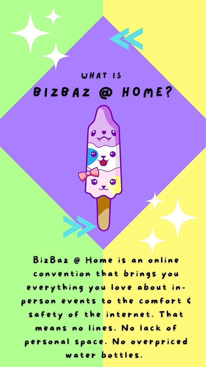 July's BizBaz @ Home! image