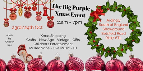 The Big Purple Xmas Special - Vintage, New Age, Craft, Gift & Foodies tickets