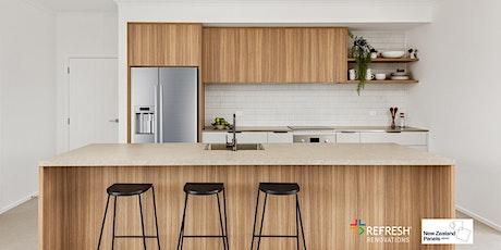 Kitchen Renovation Seminar - Refresh Renovations + NZ Panels tickets
