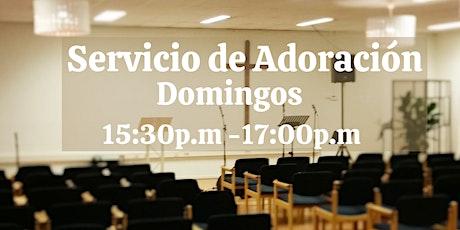 Servicio Dominical, celebrando a papá tickets