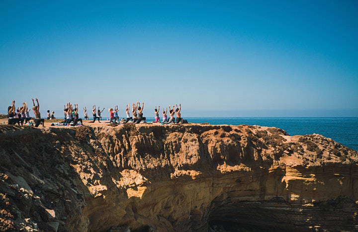 All-Levels Donation Yoga at Sunset Cliffs (Every Saturday!) image