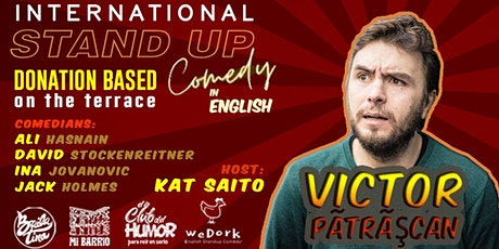 Beat the Sunday Blues - English Stand up Comedy on the terrace at Mi barrio tickets