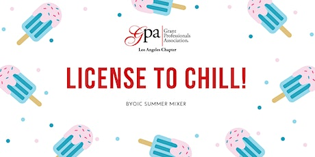 License to Chill: Summer Mixer for Grant Professionals tickets