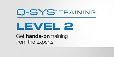 Q-SYS Training Level 2 tickets