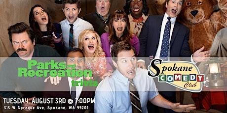 Parks & Rec Trivia at Spokane Comedy Club tickets