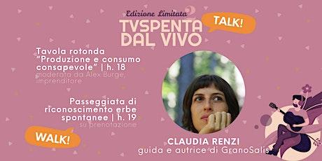 TVSpenta TALKS! Parliamone Domenica: Produzione e consumo consapevole biglietti