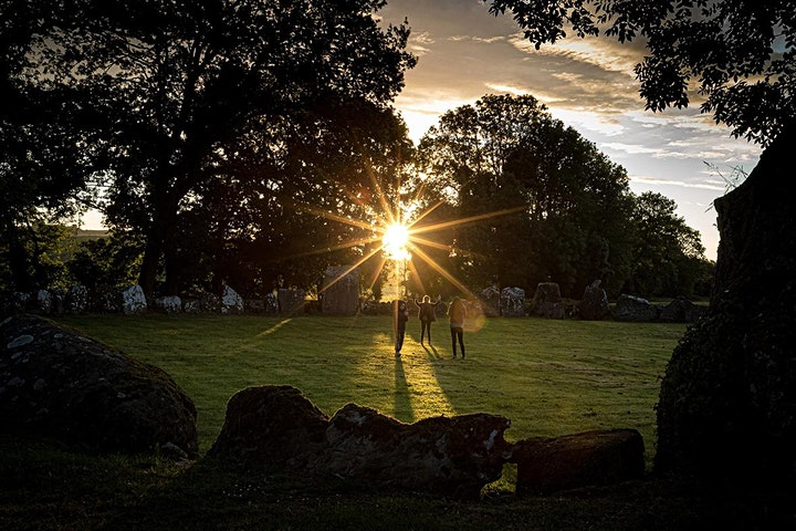 2021 Summer Solstice at Lough Gur,  Exhibition of Images by Keith Wiseman image