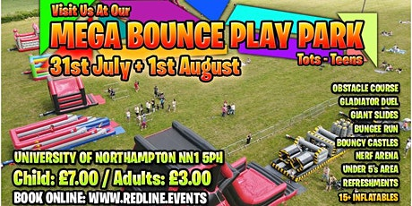 Mega Bounce Play Park Tots-Teens tickets