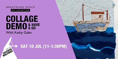 Collage Demo with Kathy Gales tickets