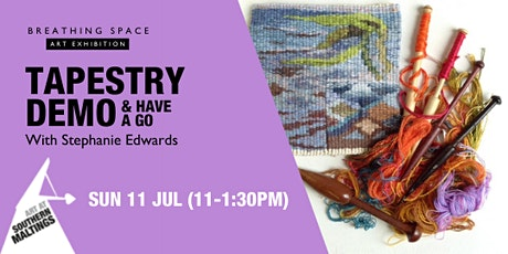 Tapestry Demo with Stephanie Edwards tickets