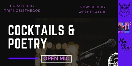 Cocktails&Poetry tickets