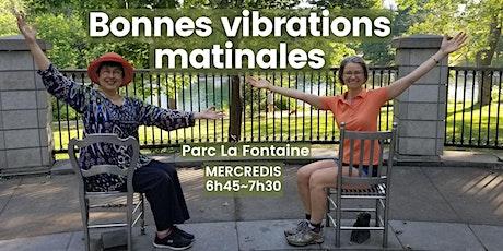 Bonnes vibrations matinales au Parc La Fontaine - Montréal tickets