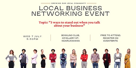 Ngaruawahia Local Business Networking Event tickets