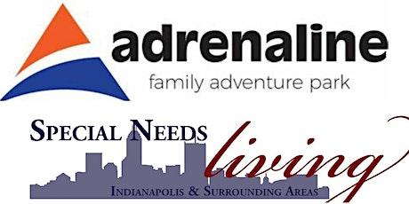 Special Needs Living Social at Adrenaline tickets