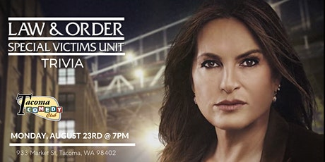 Law and  Order: SVU Trivia at Tacoma Comedy Club tickets