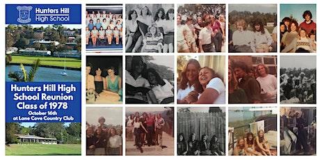 Hunters Hills High School Class of 1978 Reunion tickets