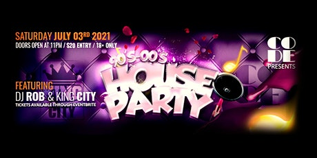 90's-00's House Party tickets