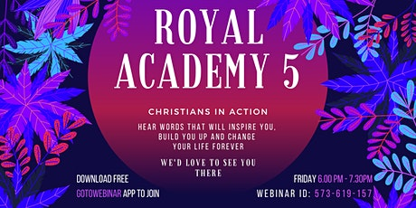 Royal Academy Christian Youth Group Meeting tickets