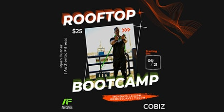 Rooftop Bootcamp w/ Authentic Fitness tickets