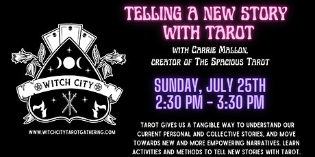 Telling a New Story with Tarot tickets