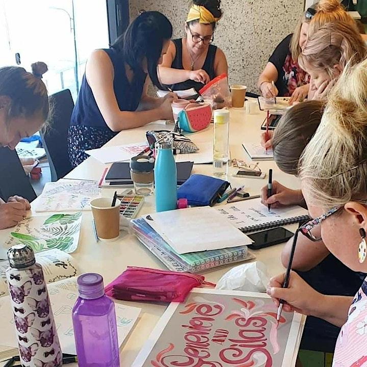 Brisbane Hand Lettering June Meet-up 2021 image