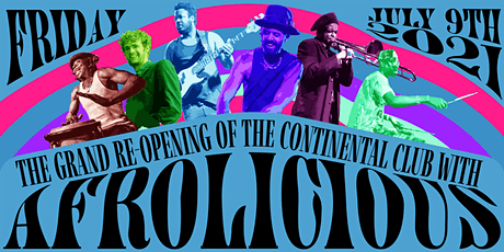 AFROLICIOUS @ Continental Club tickets