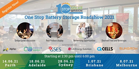 Melbourne - One Stop Battery Storage Roadshow tickets