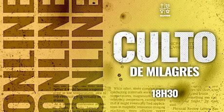 CULTO DE MILAGRES IEQ IGUATEMI - CULTO  SEX - 25/06 - 19H30 ingressos