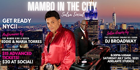 Mambo in the City Salsa Social  Presents  Eddie Torres & Maria Torres tickets